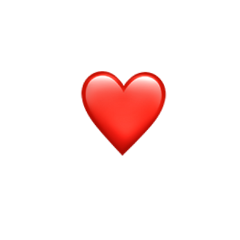 red heart redheart emoji heartemoji freetoedit