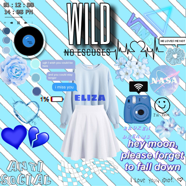 I am home cause my stomic hurts like friken hell. #sick #blue #aesthetic  #cute #heartbroken  #eliza #flower #colorful  #colorpallete
