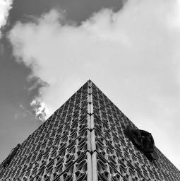 architecture soviet bandw bw sky pcminimalism freetoedit