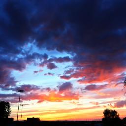 sunset colorfulsky