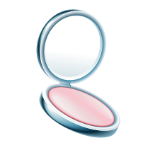 compact woman makeup beauty pink freetoedit