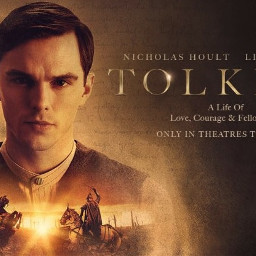 tolkien movie actor acting background