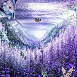 ecupsidedown upsidedown freetoedit purples bunnies