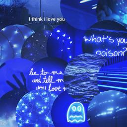 blue blueaesthetic bluecircle background remixit freetoedit