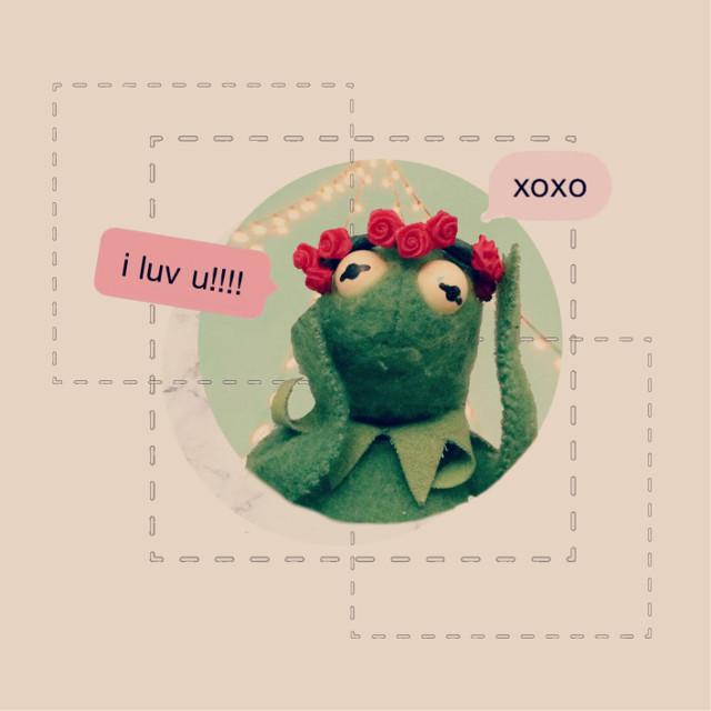 #freetoedit #kermit #xoxo #aesthetic