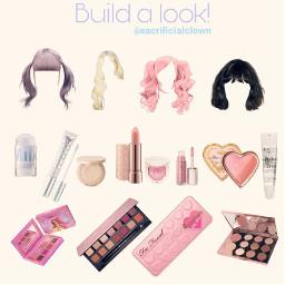 wig makeup freetoedit