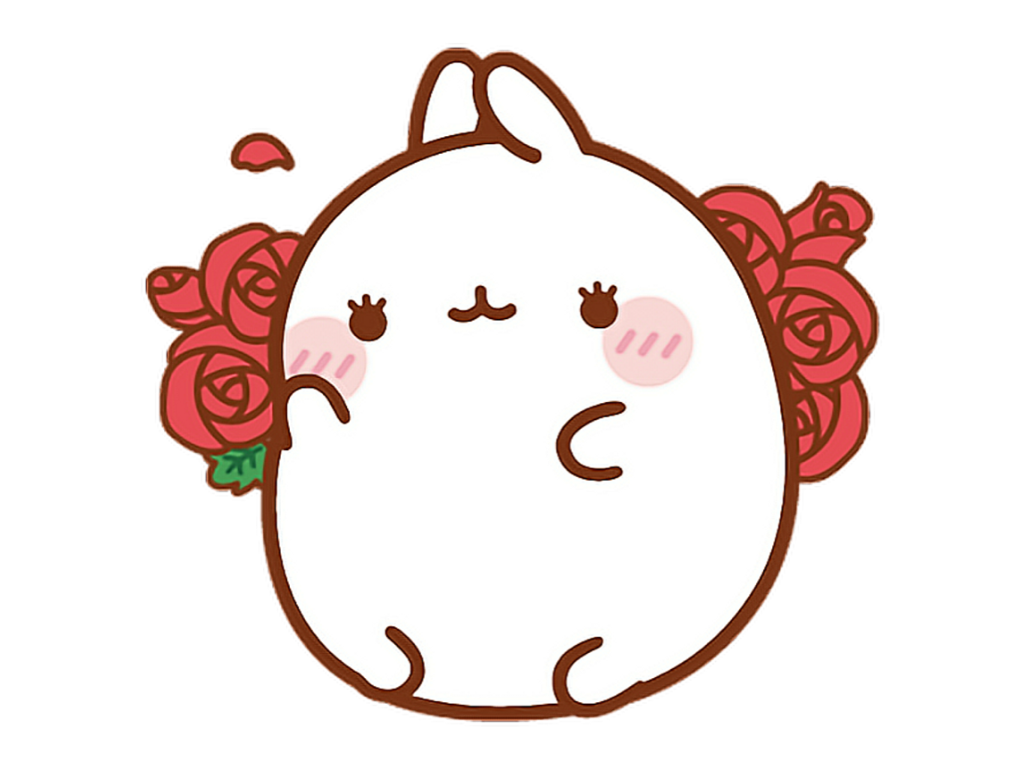 Pink Cute Aesthetic Kawaii Tumblr Soft Bunny Molang Ros