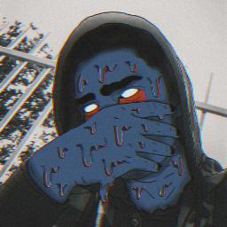 freetoedit grimeface grimeart darkside gang