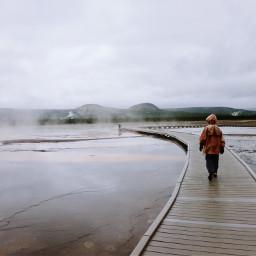 tourist candid throwback boardwalk geyser pctourist freetoedit