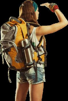 woman bag hiker hiking travel freetoedit sctravelaccessories