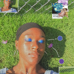 aestheticedit grassandflowers pantonecolors makeup springtime freetoedit
