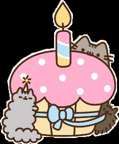 happybirthday birthday pusheen pusheenlovesyou freetoedit