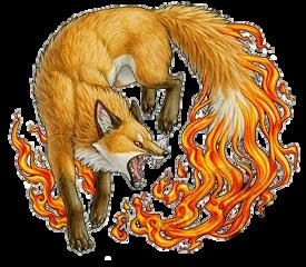 fox firefox fire element foxy freetoedit