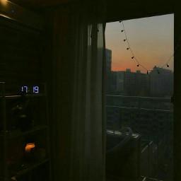 aesthetic sunset aestheticroom room
