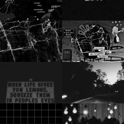 black aesthetic background grid freetoedit