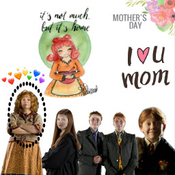 mothersday weasley mollyweasley freetoedit