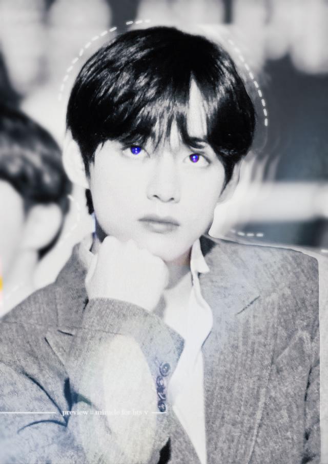 V EDIT LOOKING HANDSOME AF 💜💜💜💜💜💜   TAGS●  #V #kimtaehyung #blue #aesthetic #bts #eyes #eye  #freetoedit