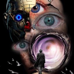 eyes surrealistgate artistic imagination myart freetoedit