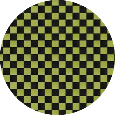 💚🖤 green black checkerboard aesthetic background circ