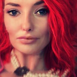 freetoedit beautiful redwoman looks cersei