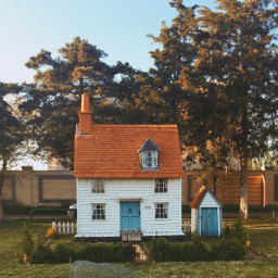 freetoedit photography house minihouse nature