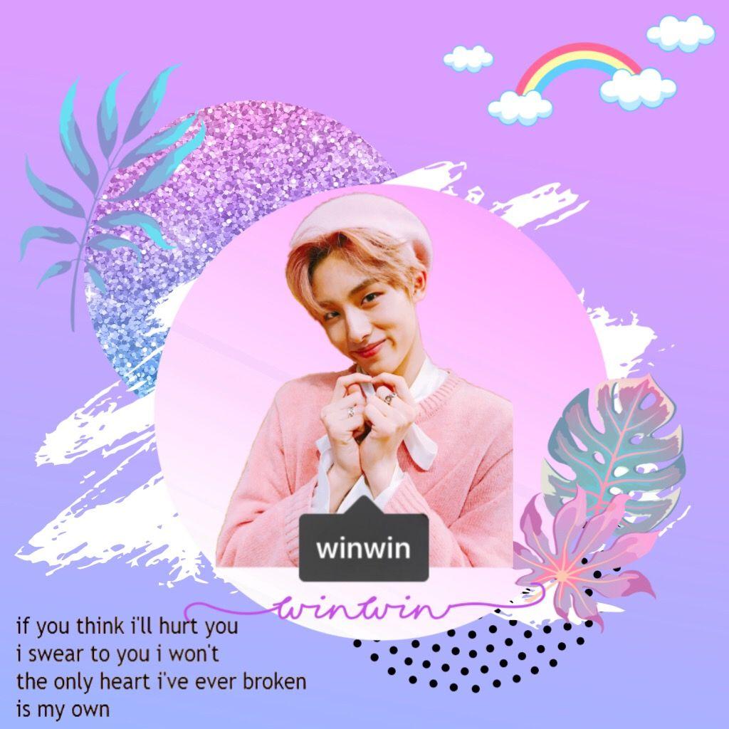 Winwin purple edit Winwin NCT Wayv Kpop love