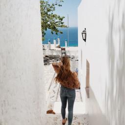 greece travel blue white beautifulplace