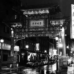 pcblackandwhitestreets blackandwhitestreets china gate pretty