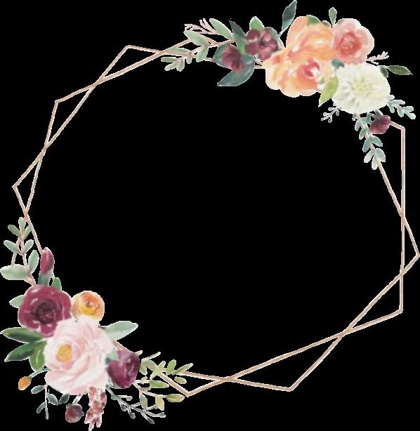 frame overlay flowers roses geometric kpopaesthetic kpo