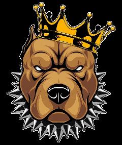 bulldog king freetoedit