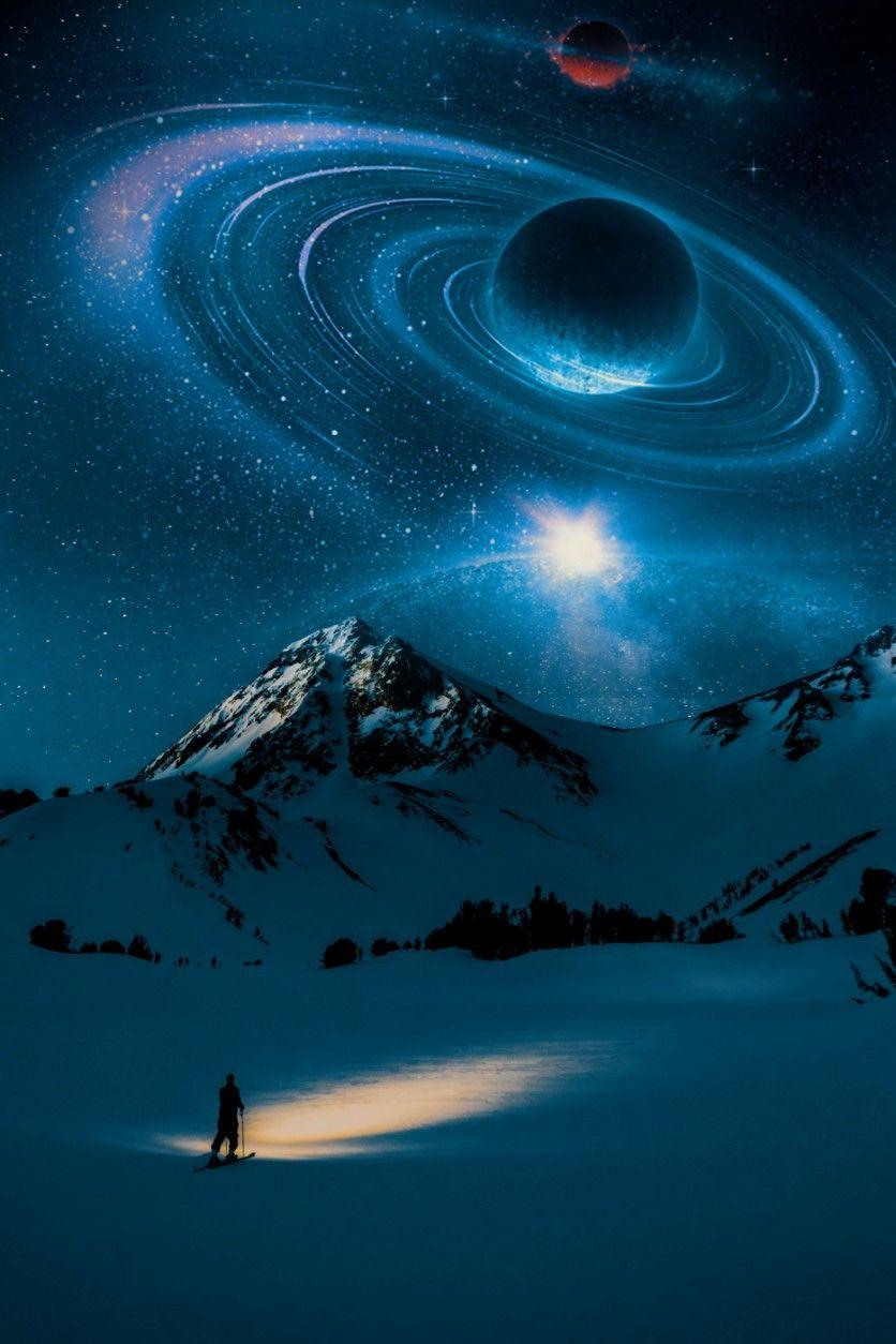 #freetoedit #universe #galaxy #space #mountains #mv3effect