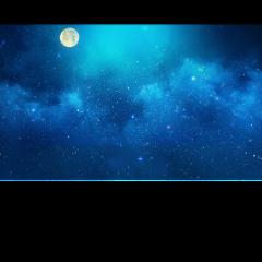 ftestickers sky clouds moon moonlight freetoedit