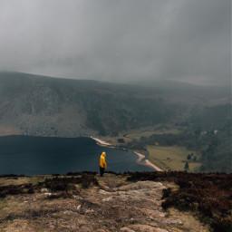 travel ireland explore fog lake freetoedit