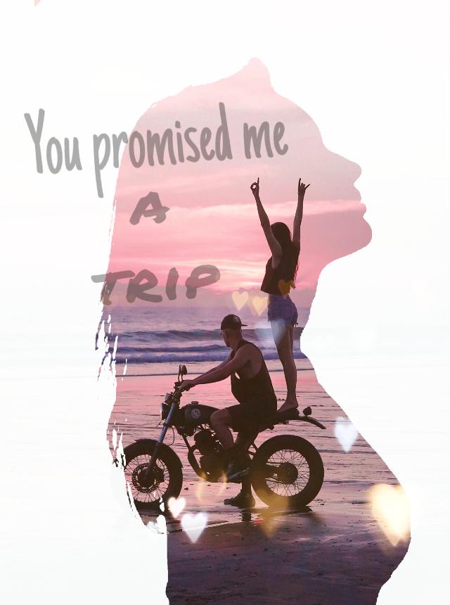 Tutorial: https://youtu.be/qMkOVlwOExo Instagram/YouTube: Margo Picsart #freetoedit #love #tumblr #motorcycle #moto #girl #silhouette #beach #silueta #day #hearts #text