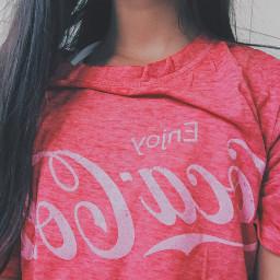 freetoedit aesthetic cocacola coke shirt