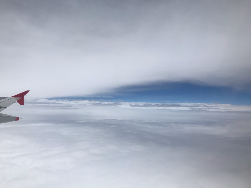 Sky view #freetoedit #airplaneview #space #myphoto #interesting #天空 #pcemptyplace #emptyplace