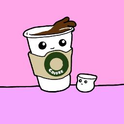 freetoedit coffee coffeecup marshmello kawaii dccoffeemug
