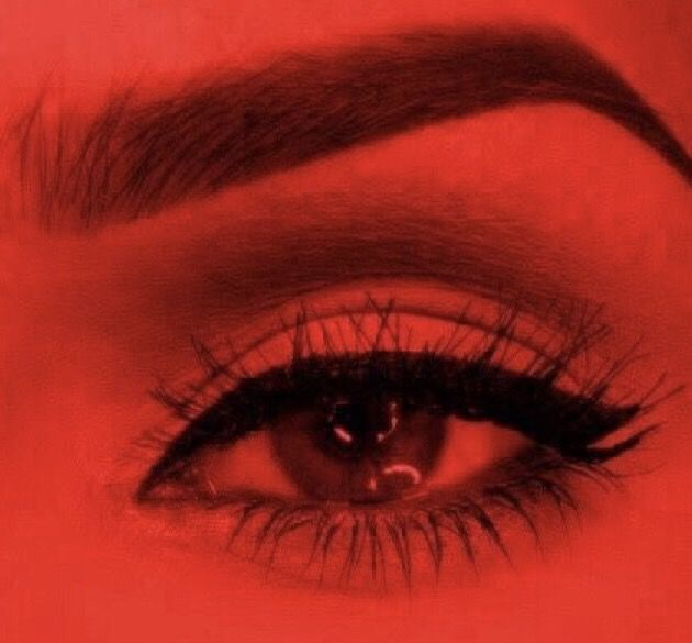 #freetoedit #red #makeup #eyeliner #remixme #redaesthetic