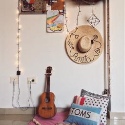 freetoedit art decor lights ukulele