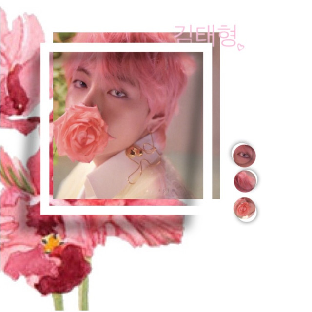 kim taehyung + new theme ~                                                                                                       ~ i really want to do a contest, but i have barely any followers lmao. maybe i'll do one in the future~                                                                         ~qotd: favourite guy group?                                       ~aotd: bts, astro + skz   tags•• #kimtaehyung #taehyung #tae #taetae #v #bts #btsv #btstaehyung #kpop #pink #theme #flower #김태형 #freetoedit