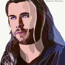 illustration avengers thor vectorart art