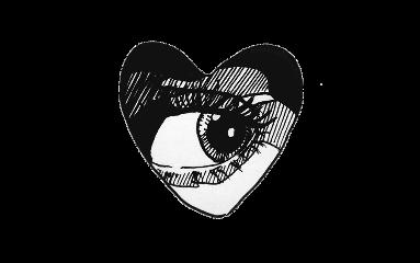 eye heart black grunge edgy freetoedit