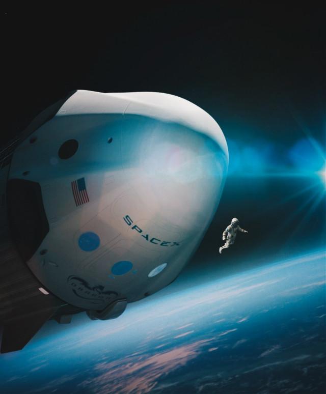 Space X #freetoedit  @picsart #madewithpicsart #art #space #fotoedit #blue #earth