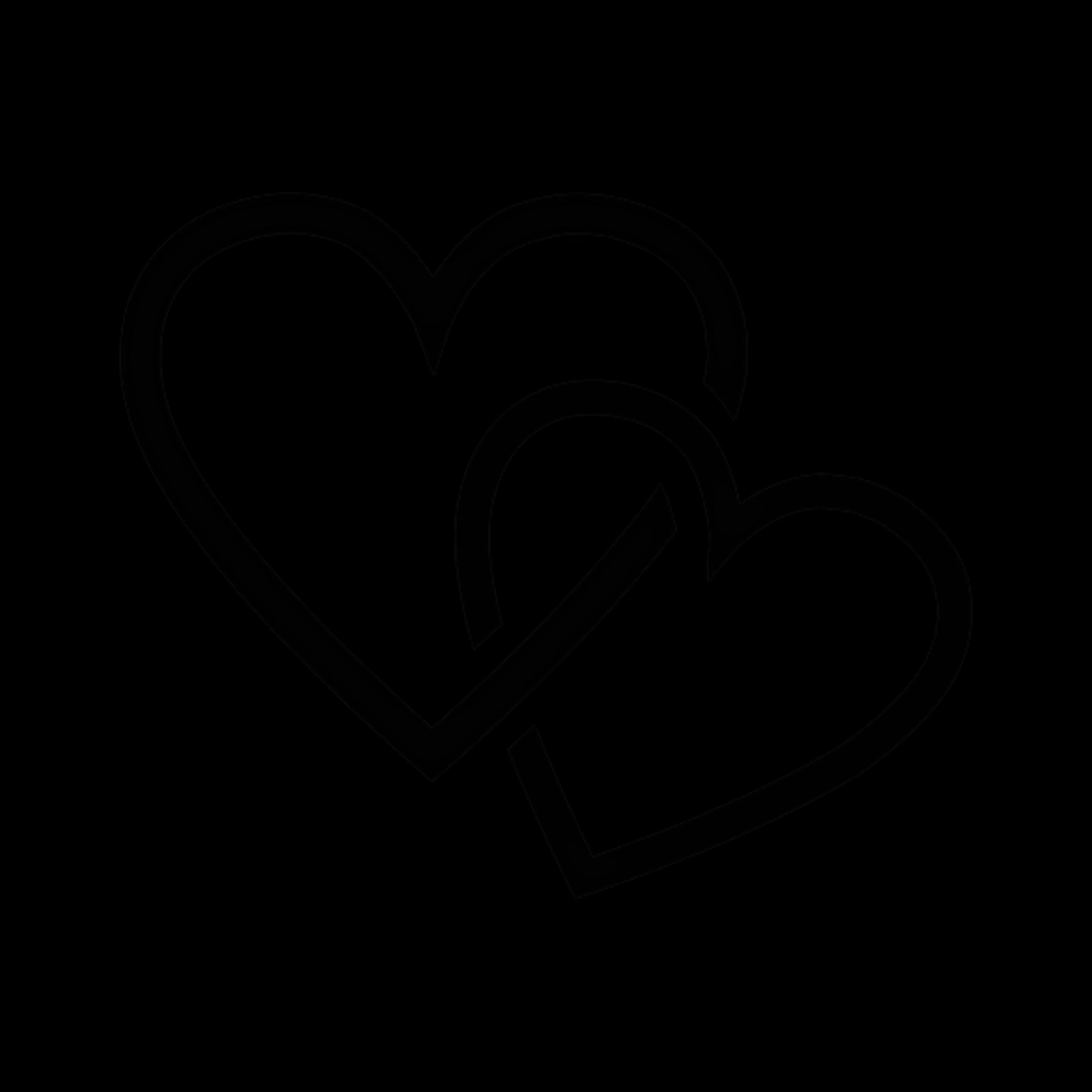картинка два сердца черно белые кстати, иногда тренировках