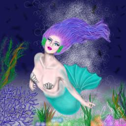 dcmermaids mermaids dcmermaidworld mermaidworld drawing