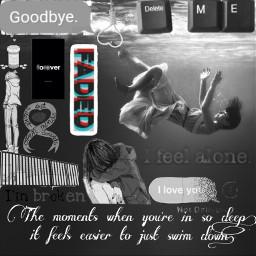 freetoedit mentalhealth mentalhealthawareness mentalhealthawarenessmonth goodbye