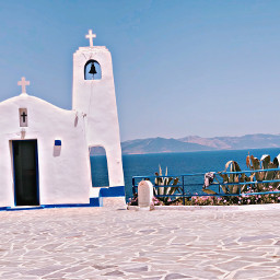 greece chapel athens church europe