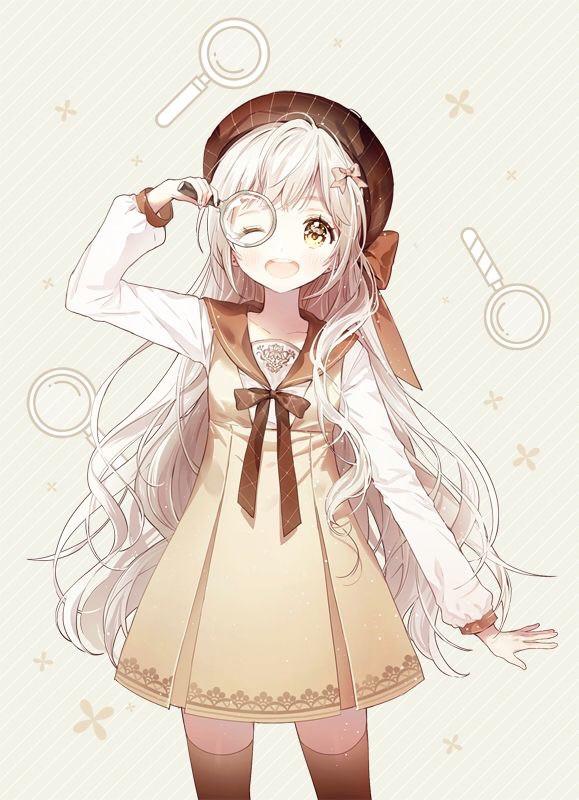 ~🕵️♀️   Look for the clues!☀️            Tags~ #anime #animegirl #interesting #freetoedit #cute #cute