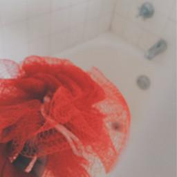 freetoedit aesthetic pamper red redaesthetic