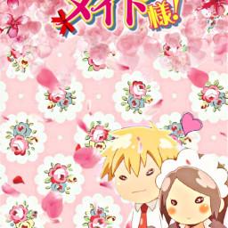 freetoedit maidsama anime background